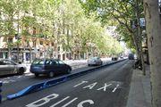 Мадрид. Выделенная полоса для общественного транспорта / Испания