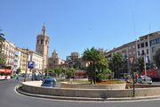 Валенсия. Въезд в подземный паркинг / Испания