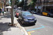 Обозначение муниципальной парковки / Испания
