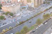 Вид из окна отеля в Валенсии / Испания