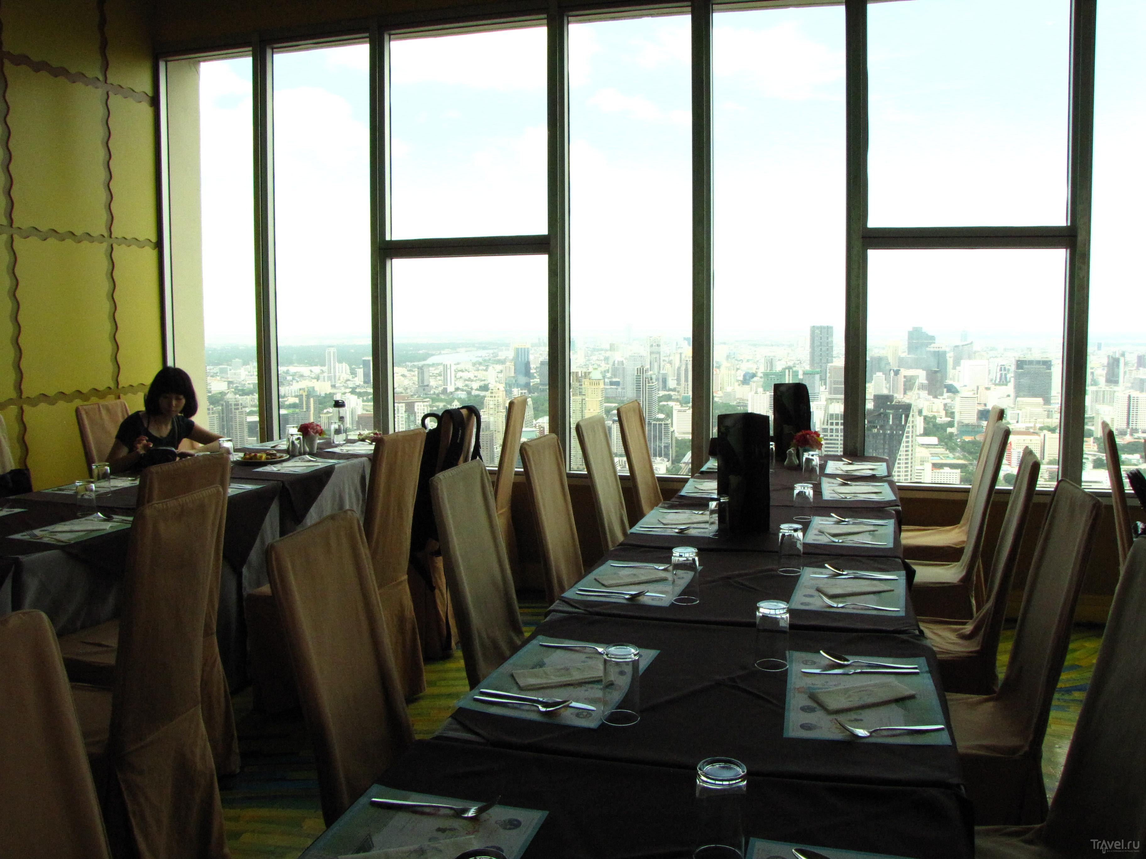 Ресторан на вершине Байок-Скай в Бангкоке, Таиланд / Фото из Таиланда