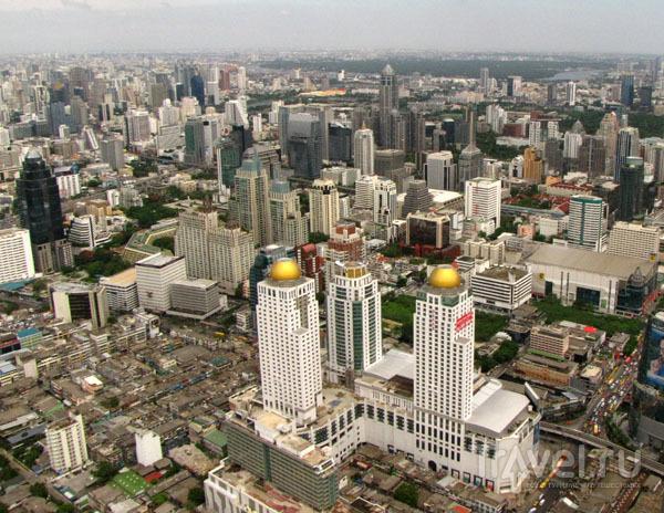 Вид на Бангкок со смотровой площадки Байок-Скай, Таиланд / Фото из Таиланда