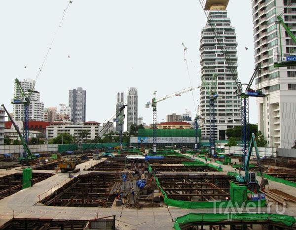 Стройплощадка в Бангкоке, Таиланд / Фото из Таиланда