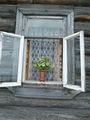 Окно с цветами / Россия