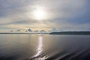 Волны на Ладоге / Россия