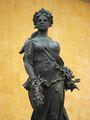 Статуя барышни / Мексика