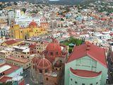 Вид на город / Мексика