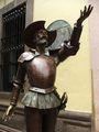 Дон Кихот у входа в музей / Мексика
