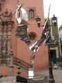Скульптура ангела / Мексика