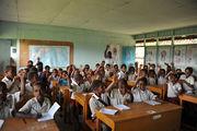 В аборигенской школе / Папуа-Новая Гвинея