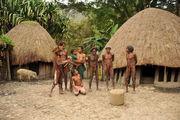 Население деревни / Папуа-Новая Гвинея