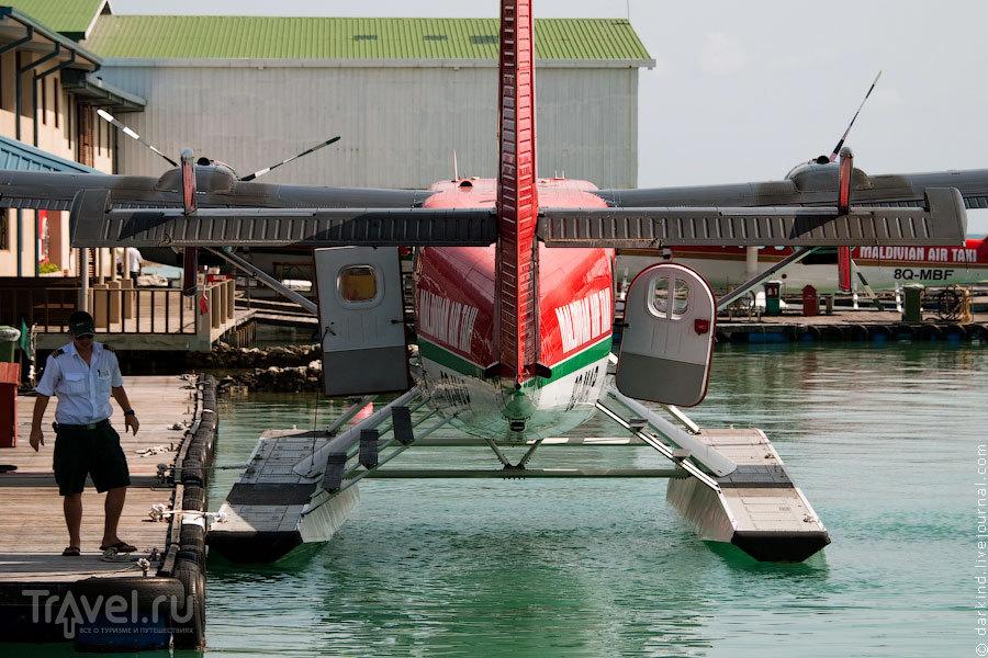 Плановый предполетный осмотр / Фото с Мальдив