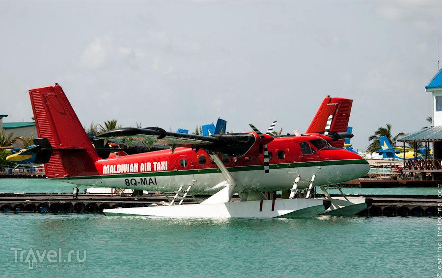 Самолет DHC-6 Twin Otter / Фото с Мальдив