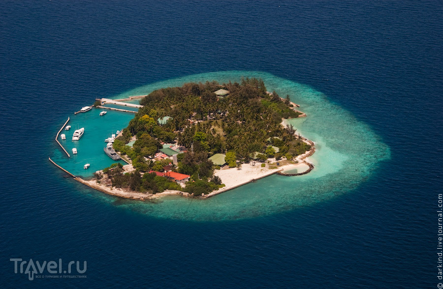 Резиденция президента республики / Фото с Мальдив