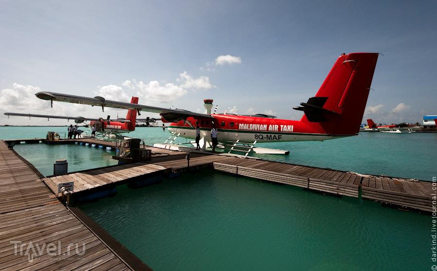 Аэропорт гидросамолетов / Фото с Мальдив