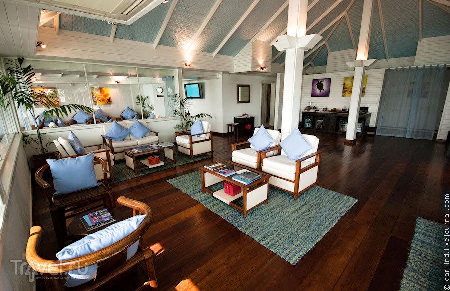 Лаунж сети отелей Four Seasons / Фото с Мальдив