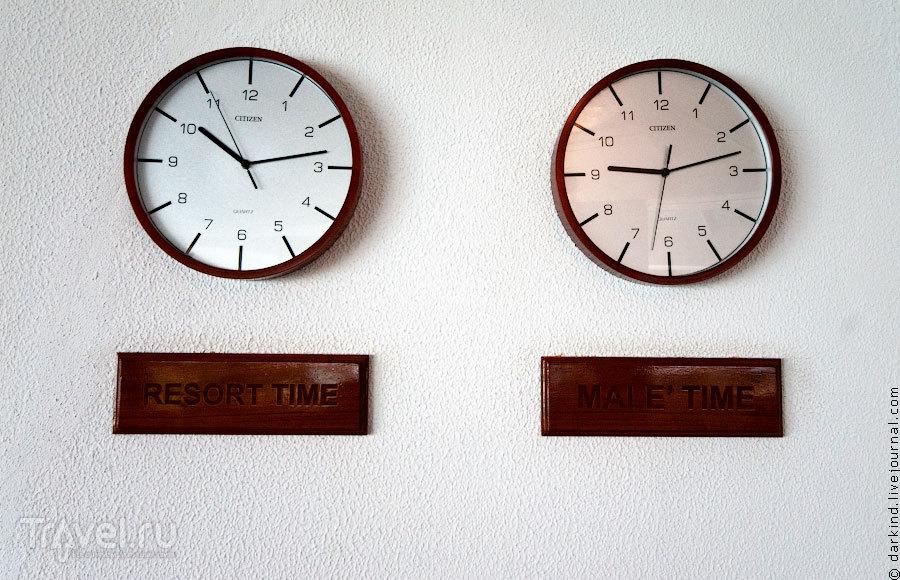 Установление своего времени / Фото с Мальдив