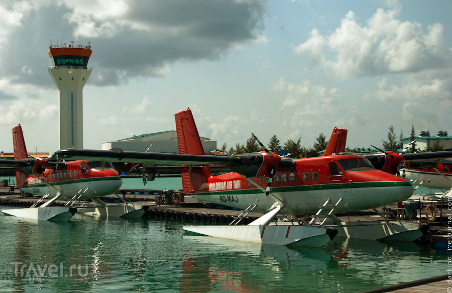 Воздушный флот компании / Фото с Мальдив