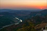 Закат над вершинами / Болгария