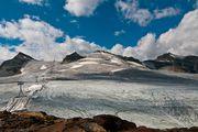 Вид на ледник / Швейцария