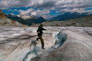 Прогулка по леднику / Швейцария