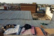 Матрасы на крыше / Индия
