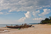 Несколько лодок / Индия