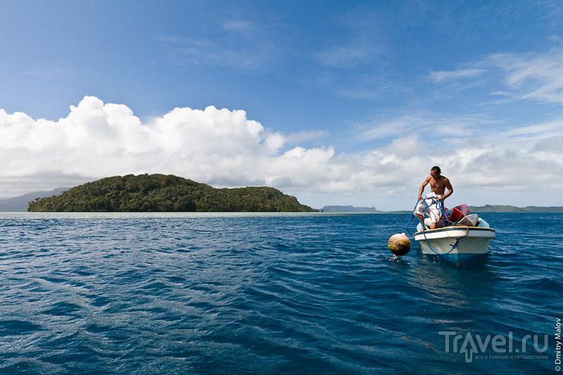 Море у острова Понпеи, Микронезия / Фото из Микронезии