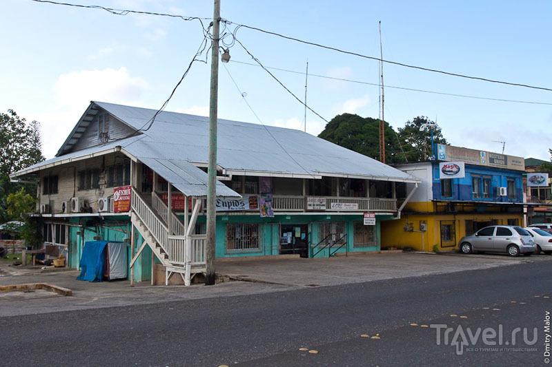 Главная улица Колониа, Микронезия / Фото из Микронезии