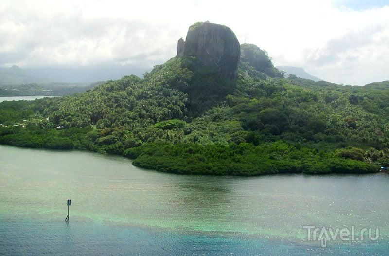 Вид на гору Сокес, Микронезия / Фото из Микронезии