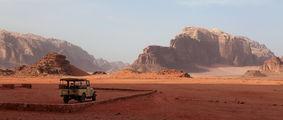 Машина для пустыни / Иордания