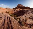 Разные виды скал / Иордания
