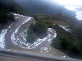 Дорога и снег / Чили