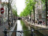 Вид на канал и набережную / Нидерланды