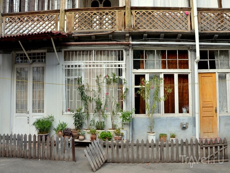 Внутренний дворик в Тбилиси, Грузия / Фото из Грузии