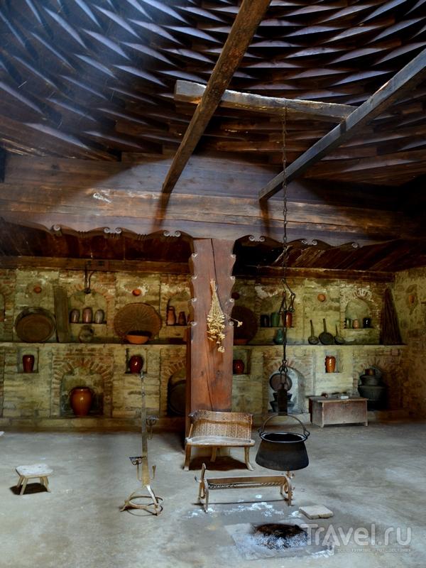 Интерьер одного из домов в Музее этнографии в Тбилиси, Грузия / Фото из Грузии