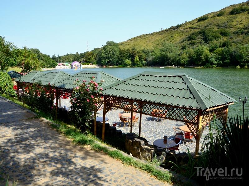 Ресторан на Черепашьем озере, Грузия / Фото из Грузии