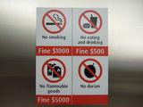Знак-предупреждение / Сингапур