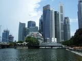 Обилие небоскрёбов / Сингапур