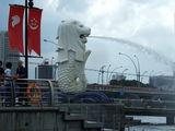 Мерлайон - символ Сингапура / Сингапур