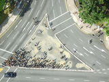 Вид сверху. Пешеходы / Сингапур