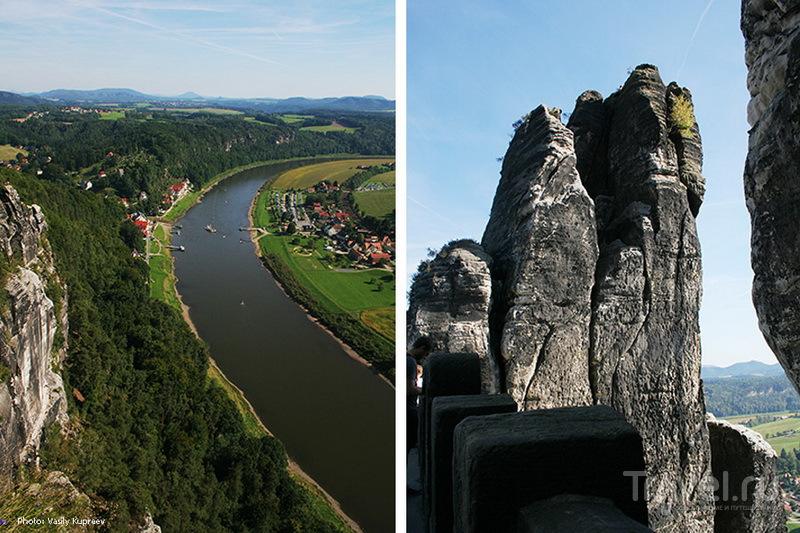 Саксонская Швейцария. Эльба / Германия