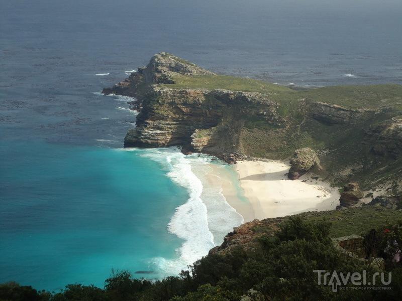 Вид на мыс с Cape Point / ЮАР