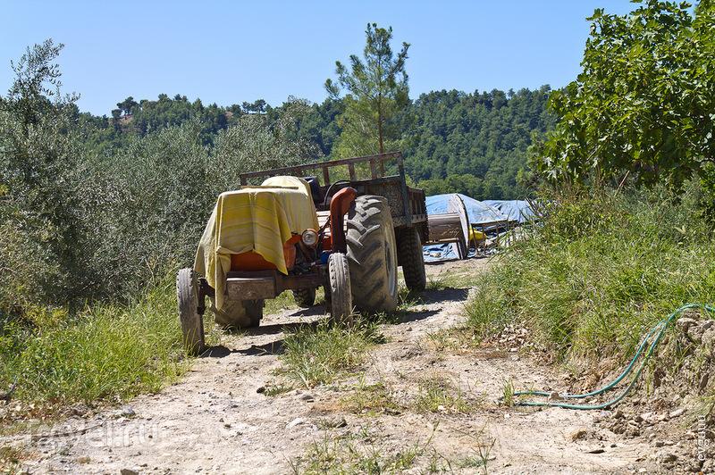 Трактор с открытой кабиной / Турция