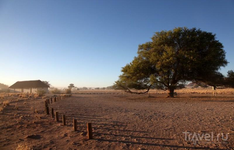 По Африке с палаткой и спальным мешком! / Намибия