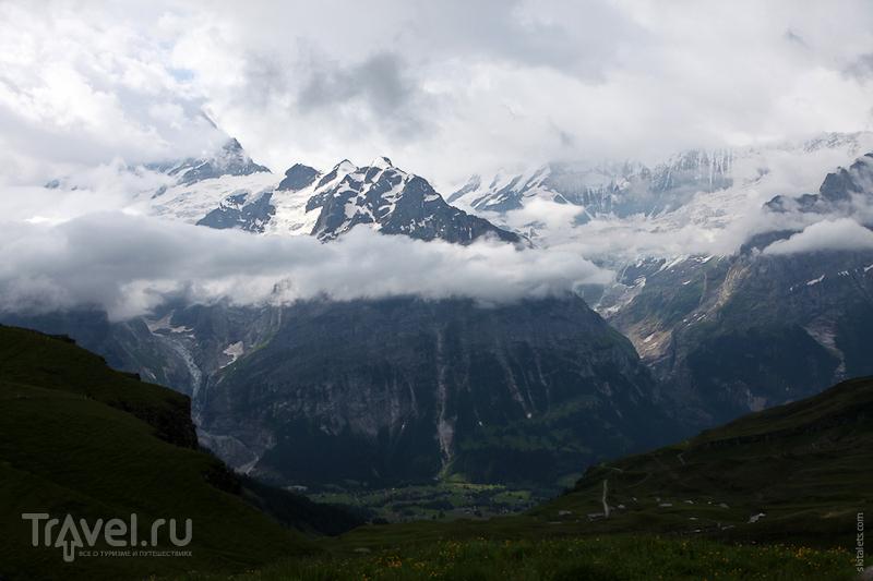 Облака над головой / Швейцария