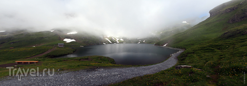 Вид на Бахальпзее / Швейцария