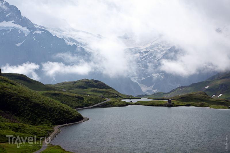 Низкая облачность / Швейцария