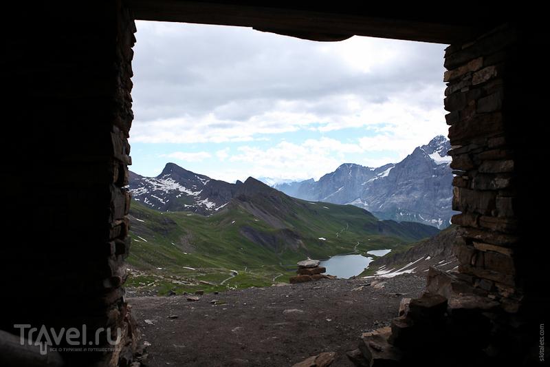 Отдых в небольшом приюте / Швейцария