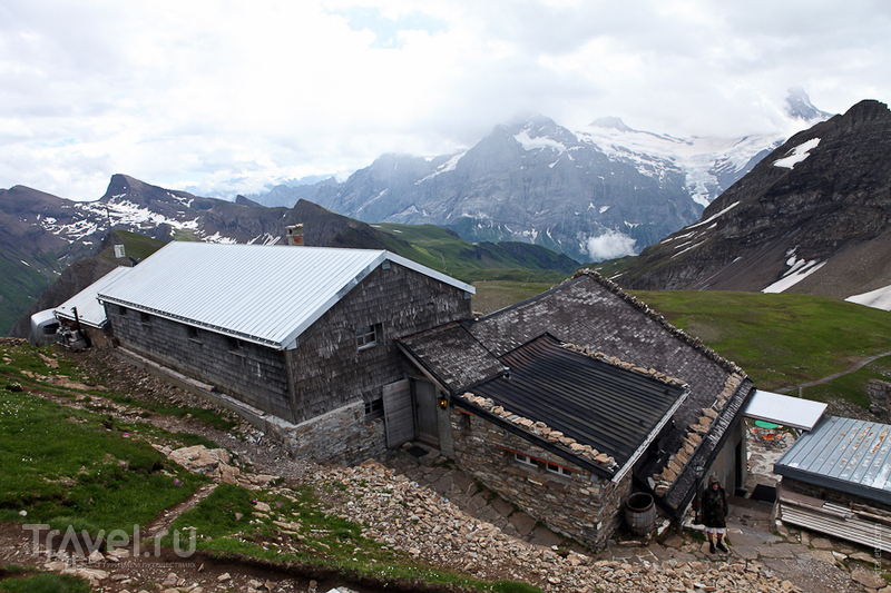 Горный отель на Фаулхорне / Швейцария